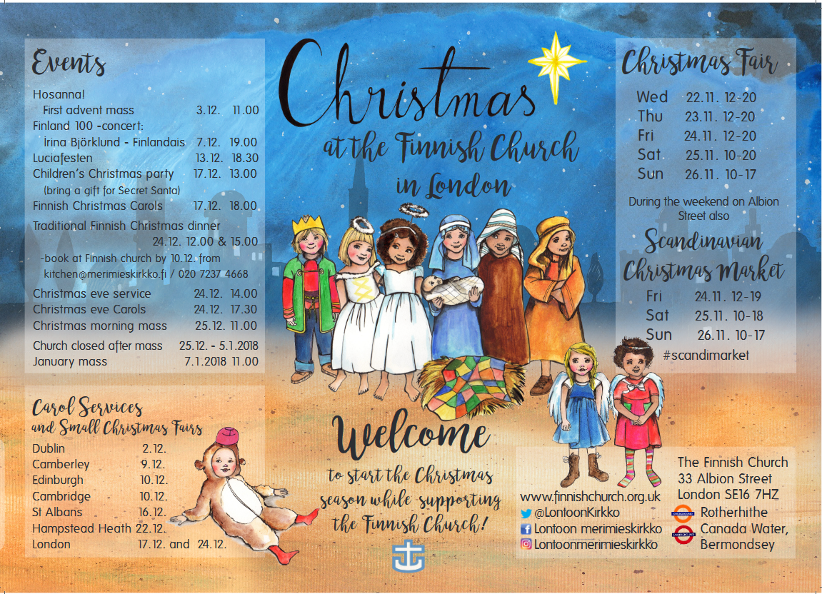 joulu lontoossa 2018 Joulunajan tapahtumat joulu lontoossa 2018